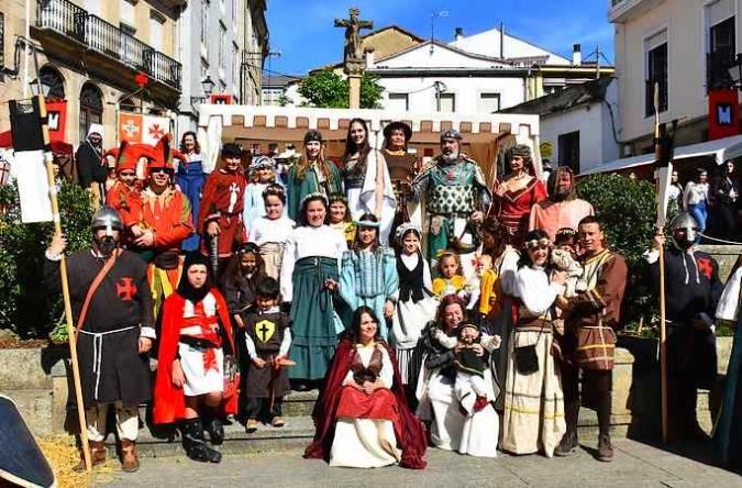 Feria Medieval de Monforte de Lemos, en Lugo, Galicia