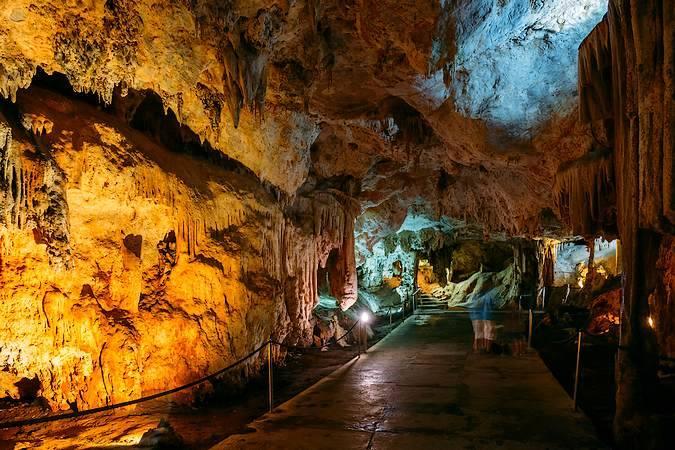 Cuevas de Nerja, en Málaga