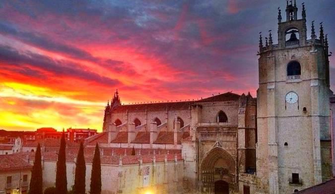 Panoámica de la ciudad de Palencia