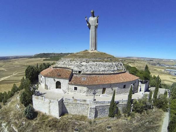 Cristo del Otero, en Palencia