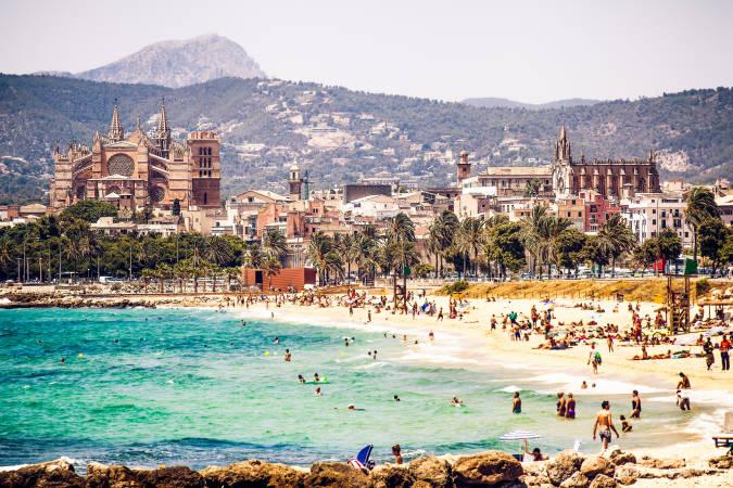 La ciudad de Palma de Mallorca