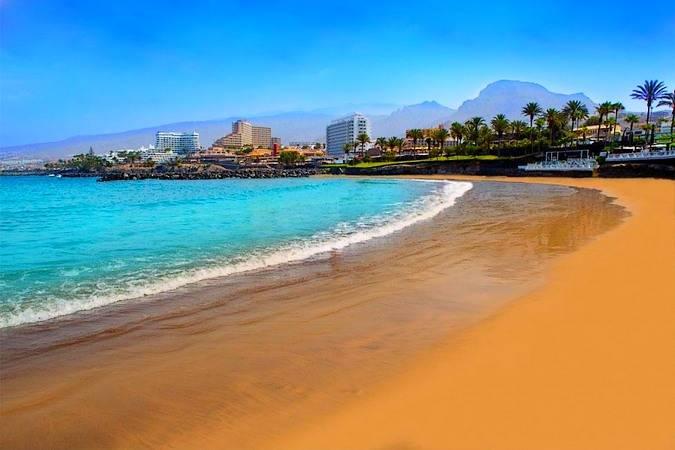 Playa de las Américas, en Tenerife