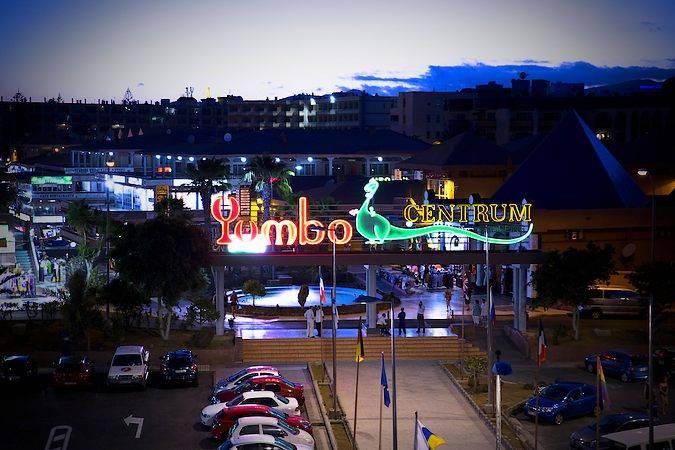Centro Comercial Yumbo Centrum, en Playa del Inglés