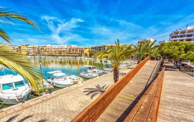 Puerto de Alcudia, en Mallorca