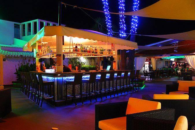 Discoteca Menta, en Puerto de Alcudia, Mallorca