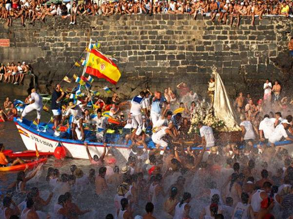 Fiestas del Carmen en el Puerto de la Cruz