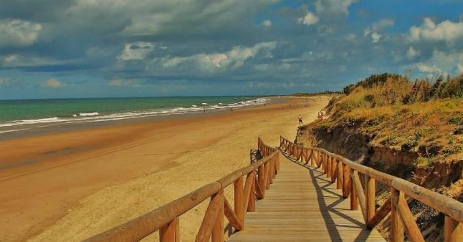 Playa de la Ballena, en Rota, Cádiz