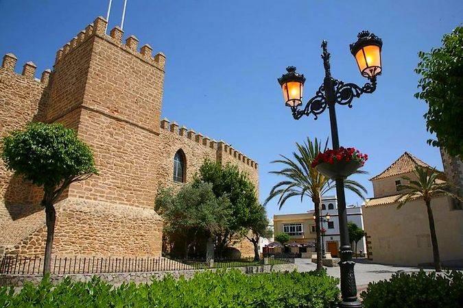 Castillo de la Luna, en Rota, Cádiz