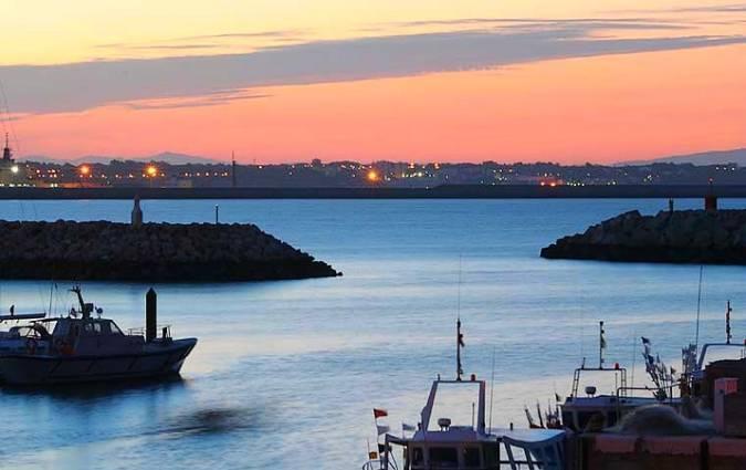 Puerto Deportivo Astaroth, en Rota, Cádiz