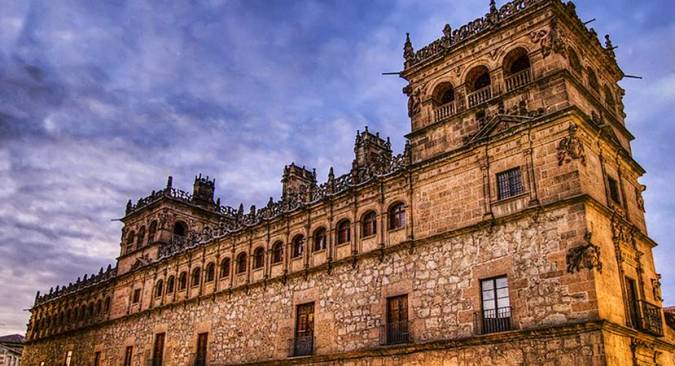 Palacio de Monterrey, en Salamanca