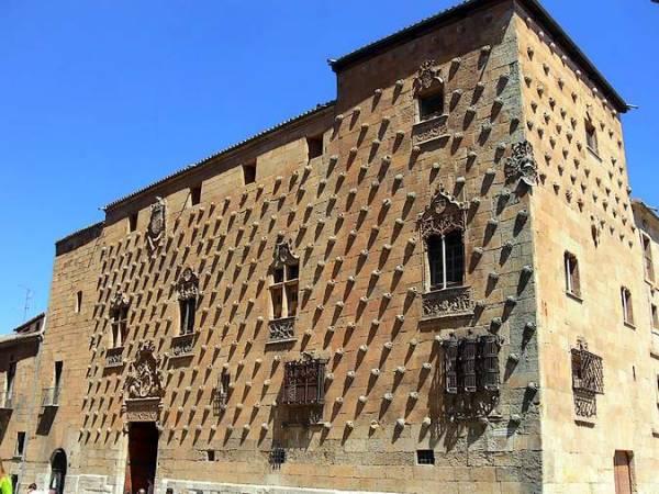 La Casa de las Conchas, en Salamanca