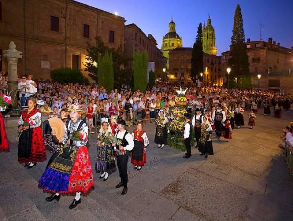 Fiestas en honor a la Virgen de la Vega, en Salamanca
