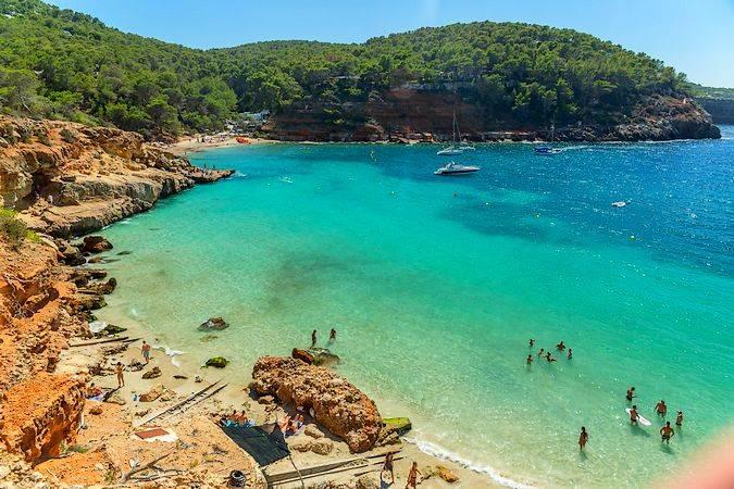 Cala Salada, en Ibiza
