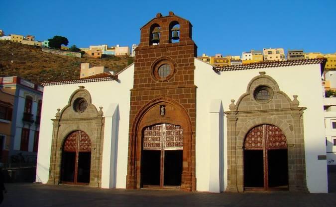 Iglesia de Nuestra Señora de la Asunción, en San Sebastián de La Gomera
