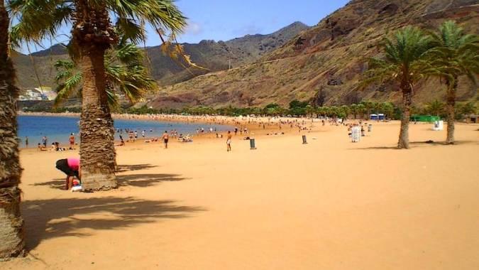 Playa de las Teresitas, en Santa Cruz de Tenerife
