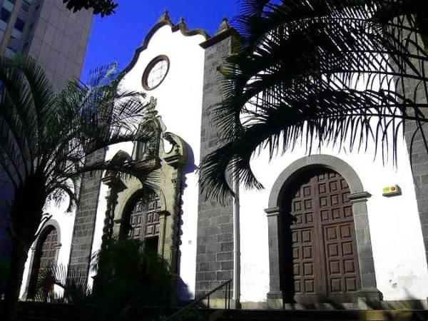 Iglesia de San Francisco de Asís, en Santa Cruz de Tenerife