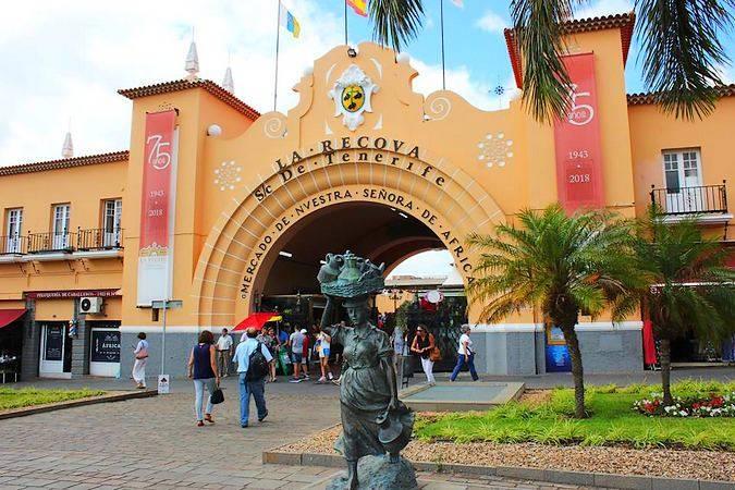 Mercado Nuestra Señora de África, en Santa Cruz de Tenerife