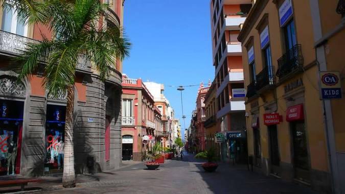 Calle del Castillo, en Santa Cruz de Tenerife