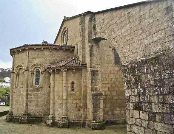Colegiata de Santa María del Sar, en Santiago de Compostela