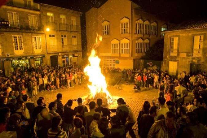 Noche de San Juan en Santiago de Compostela