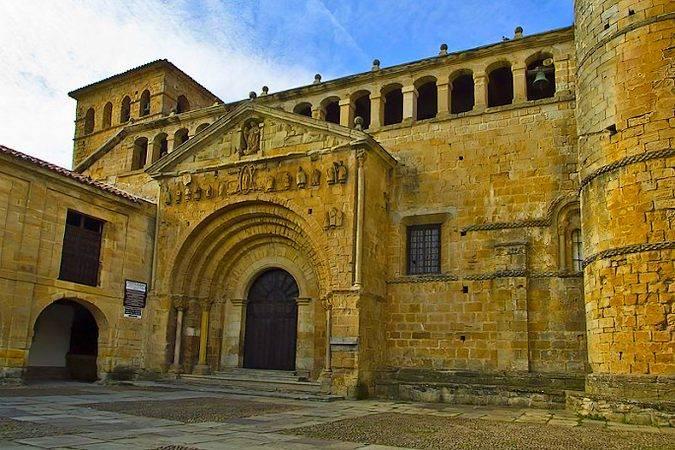 Colegiata de Santillana del Mar, en Cantabria