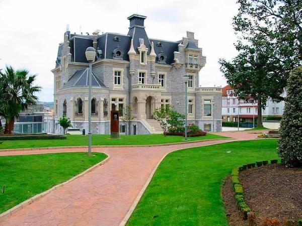 Palacio Oriol, en Santurtzi, Vizcaya