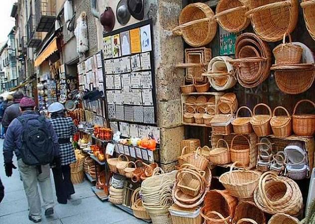 De compras por Segovia
