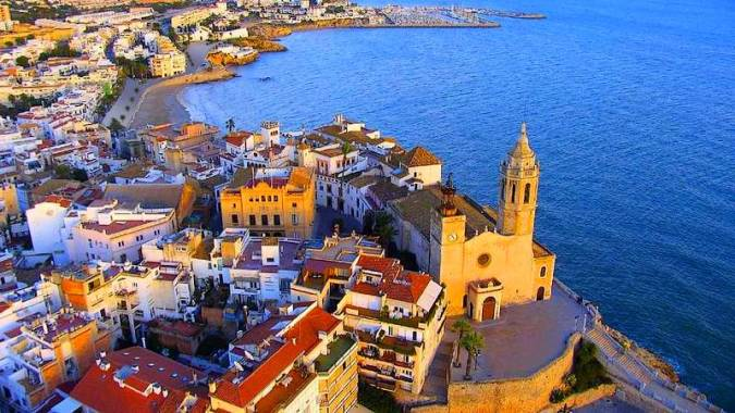 La villa marinera de Sitges