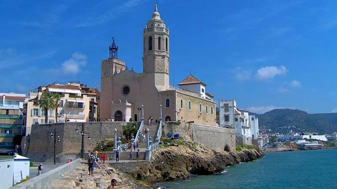Iglesia de Sant Bartomeu i Santa Tecla, en Sitges