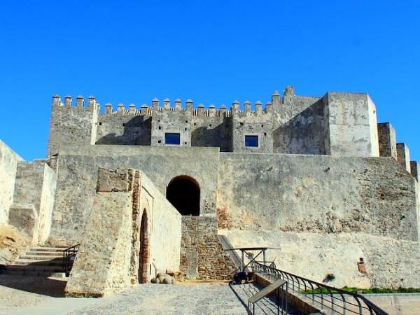 Castillo de Guzmán el Bueno, en Tarifa