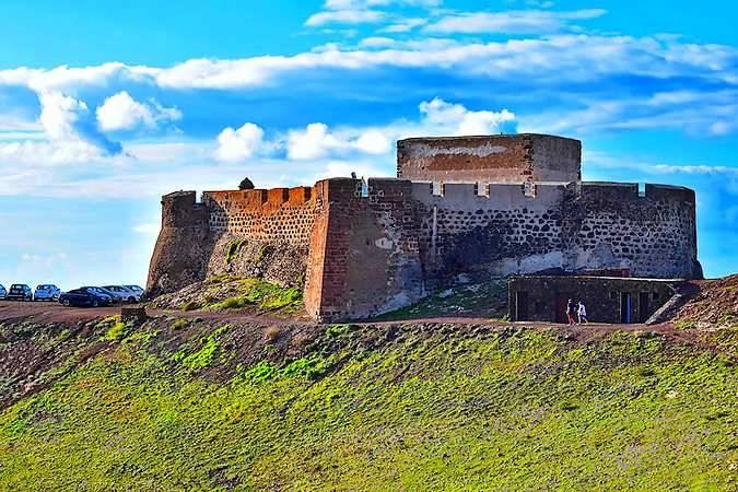 Castillo de Santa Bárbara, en Teguise