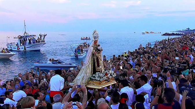 Fiestas en honor a la Virgen del Carmen, en Torre del Mar
