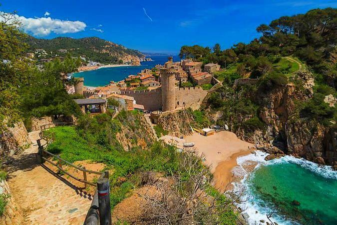 Vila Vella de Tossa de Mar, en Girona