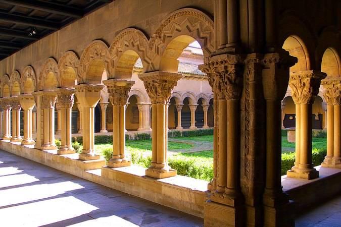 Claustro románico de la Catedral de Tudela