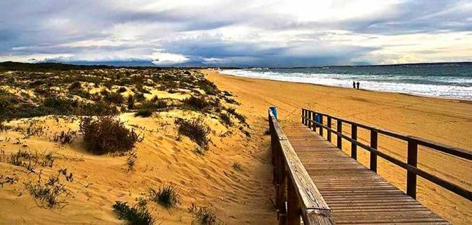 Playa de Les Pesqueres-El Rebollo, en Elche