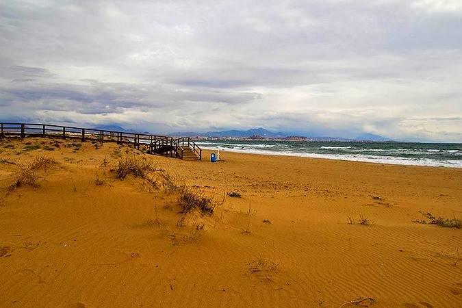 Playa del Altet, en Elche