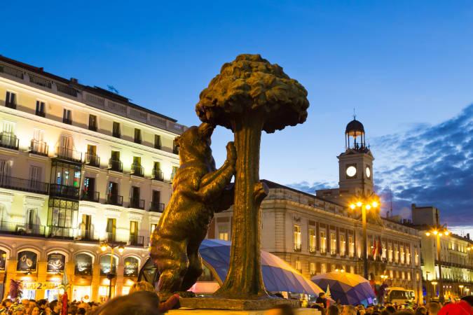 Puerta del Sol, en Madrid