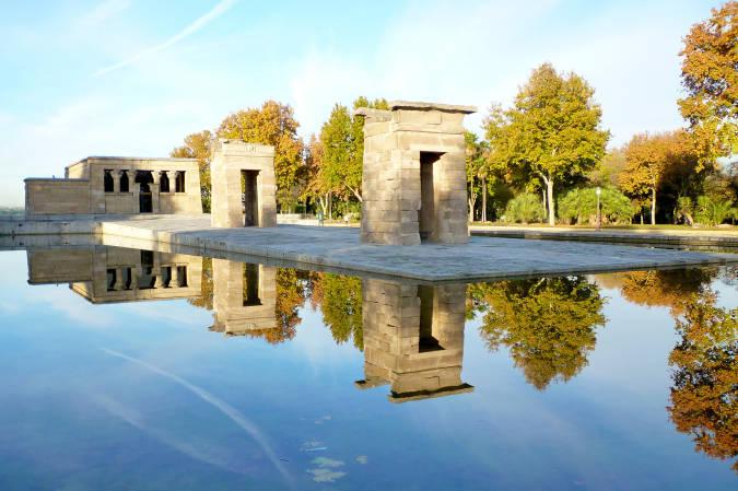 Templo de Debod, en Madrid