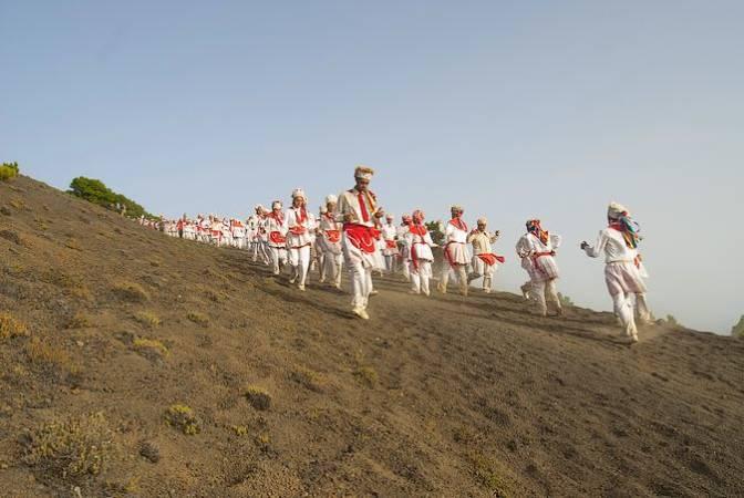 Bailarines de la isla de El Hierro