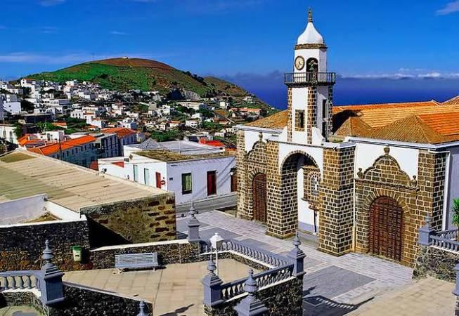 Valverde, capital de la isla de El Hierro