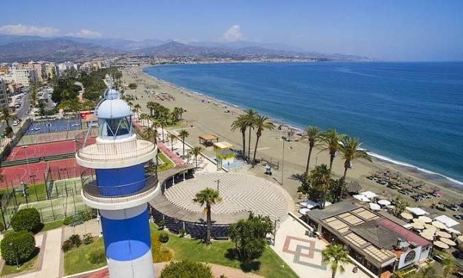 Playa de Torre del Mar, en Vélez-Málaga