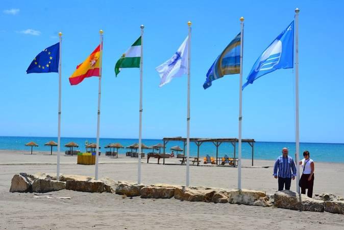 Playa de Benajarafe, en Vélez-Málaga