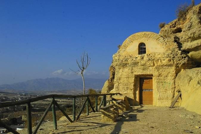 Mirador y Ermita del Espíritu Santo, en Vera, Almería
