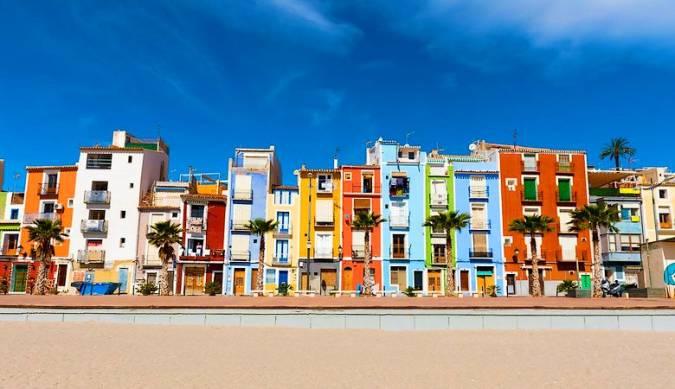 Barrio de los Pescadores de Villajoyosa, en Alicante
