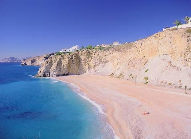 Playa Bol Nou, en Villajoyosa