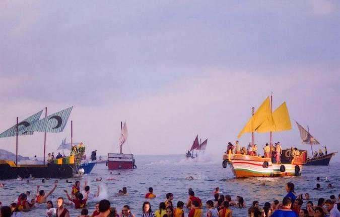 Fiestas de Moros y Cristianos en Villajoyosa