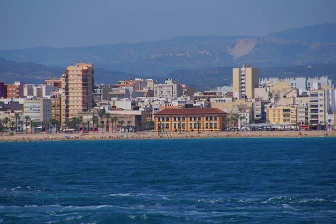 La localidad de Vinaroz, en Castellón