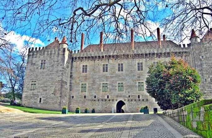 Palacio de los Duques de Braganza, en Guimaraes