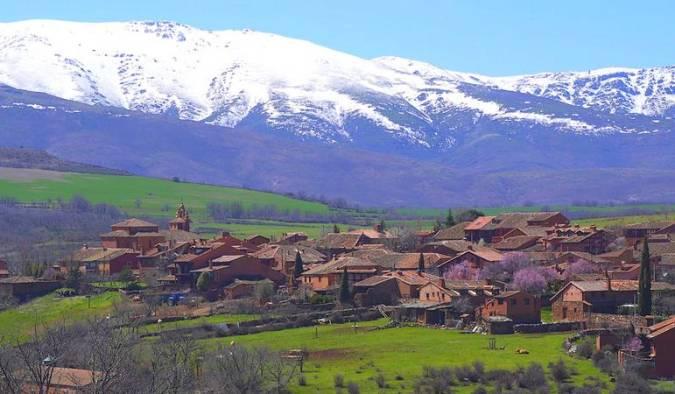La localidad de Riaza, en Segovia