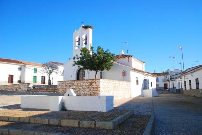 Ermita de San Antonio de Higuera de la Sierra, en Huelva